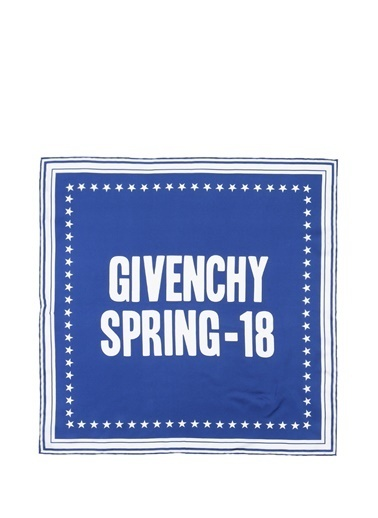 Givenchy Fular Mavi